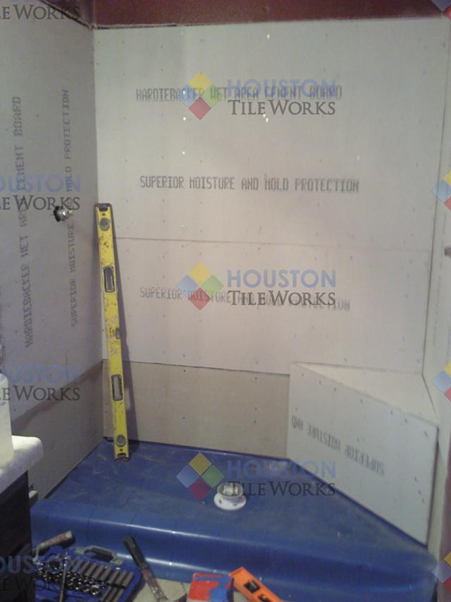 Shower Pan replacement specialists by Houstontileworks com