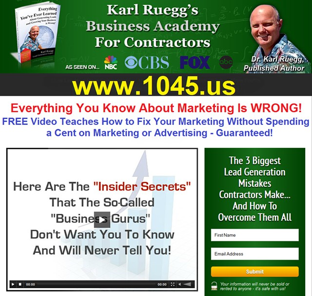 Attention Contractors Everything You Know About Marketing Is WRONG