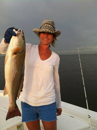 REDS ARE ON     450 TOTAL FOR 4 PERSON CHARTER - BOOK TODAY    LAFITTE   NEW ORLEANS METRO