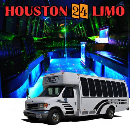 Houston limousine and Limo party buses rental services  limohct    houston24limo