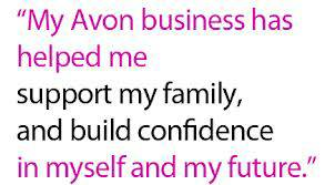 AVON Beauty Consultant  Home