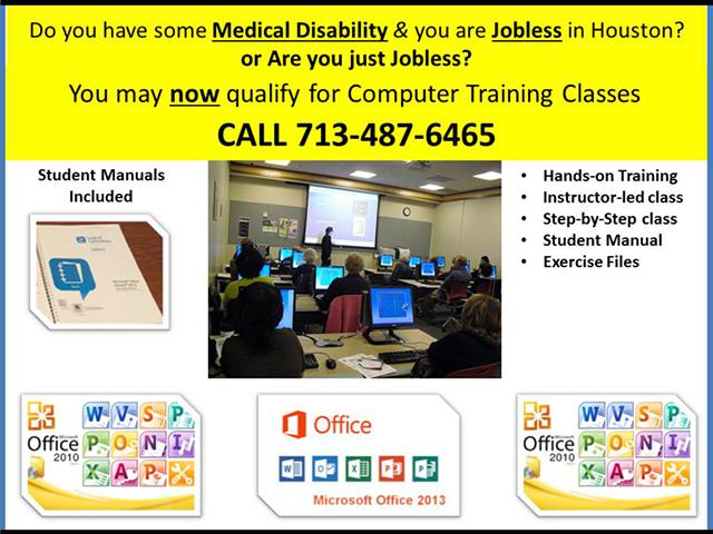 Houston Benefits for the Disabled  the Jobless in Houston Texas