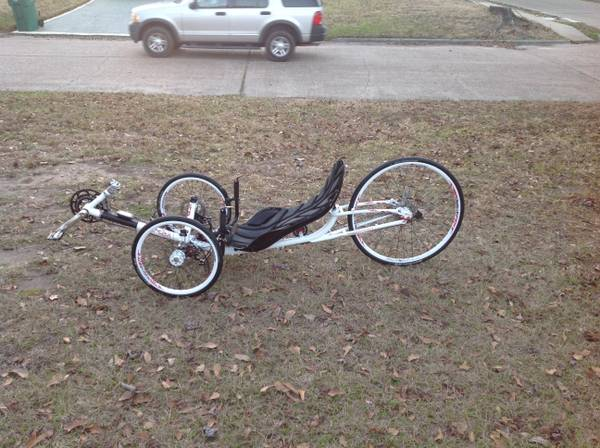 2012 Ice Vortex Recumbent Bike good condition  2 500 OBO -   x0024 2500