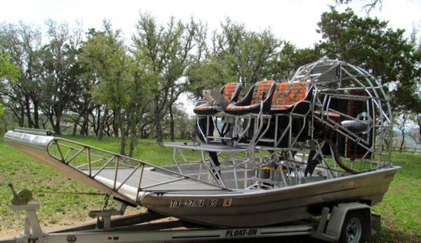 Alumitech Airboat w Supercharged 0540 Lycoming - x002426500 (Texas)