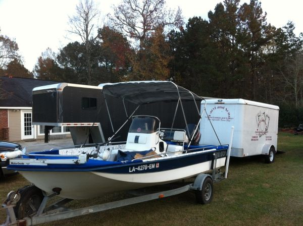 1994 Predator Bay Boat - $6500 (Walker, La)