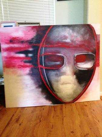 Affordable large custom paintings