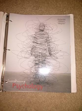 HCC Introducing Psychology  - $50 (Houston, katy, sugar land)