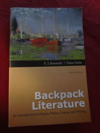 back pack literature - $60 (beaumont, houston)