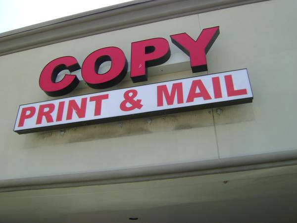 BUSINES FOR SALE COPY PRINT  MAIL - $16000 (4105 DOWLEN RD SUITE-E BEAUMONT  TX 7770)