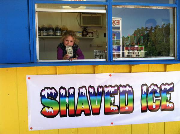 Snow Cone Concession Stand - $1250 (Buna, Texas)