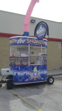 Snowie shaved Ice trailer (Port Arthur)