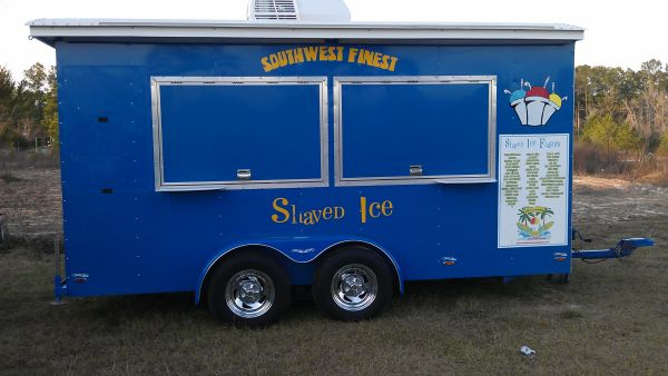 2009 SnoPro Shaved ice shaved ice concession trailer - $20000 (warren)