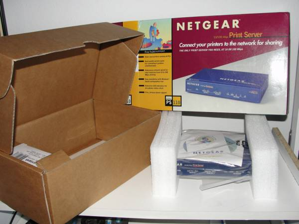 Netgear PS110 to network parallel printers -   x0024 50  Beaumont
