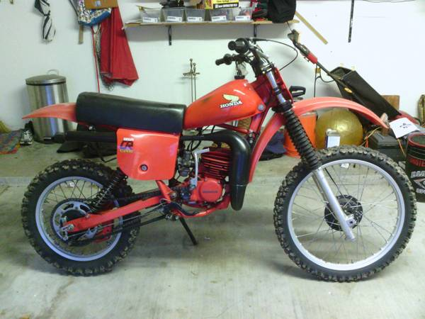 1979 Honda CR125 For Sale -   x0024 2100  Orange