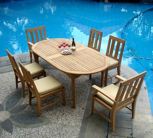 New Resort Style Outdoor TEAK FURNITURE (Beaumont)
