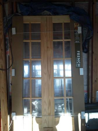 NEW Pine Wood French Doors  -  300  vidor