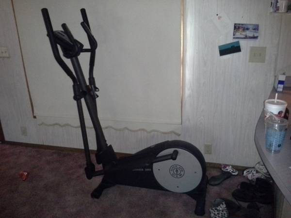 Golds Gym Stridetrainer 380 Elliptical  - x0024200 (Jasper,TX)