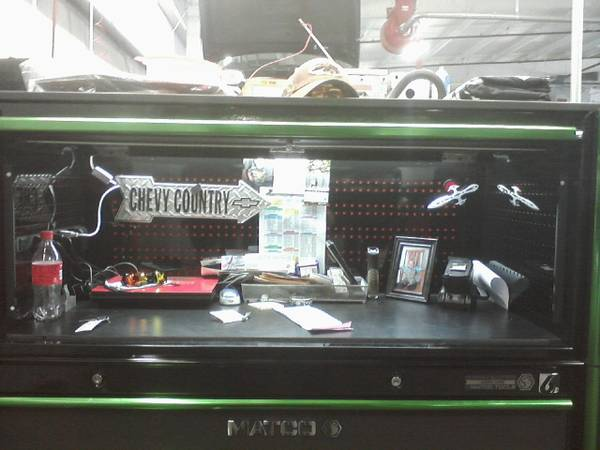 Nice matco 6s Hutch - $1750 (Beaumont)