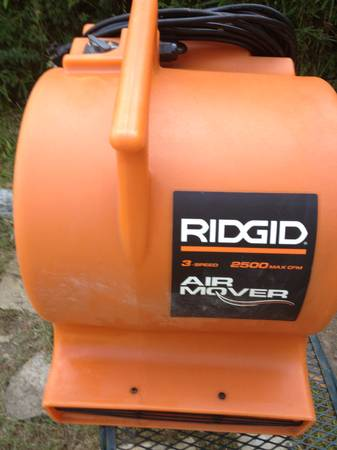 Industrial Air mover, Carpet Dryer Rigid - $100 (Beaumont)