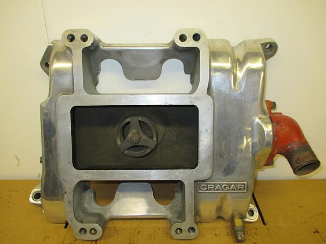 1 600  471 Cragar Blower Intake Manifold Ford Y Block 292 312 - Rat Hot Rod Model A