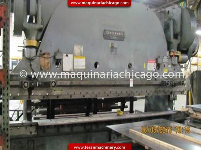 16 x 400 Ton Cincinnati Press Brake - V1513