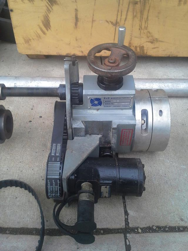 2 000  B  D Portable Line Bore Machine