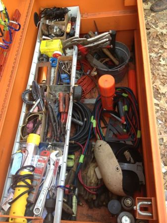 Rigid job box full of welding and fabricating  equipment - $1550 (Beaumont)