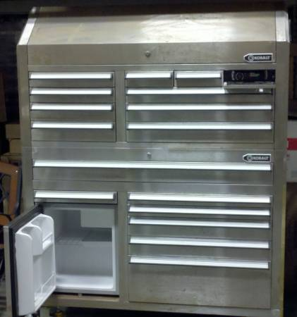 Kobalt Toolbox with Refrigerator Stereo. - $1500 (Bridge City)