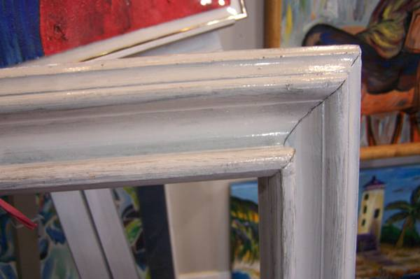 art, mirror, bulletin board frames - $1 (Kemah)