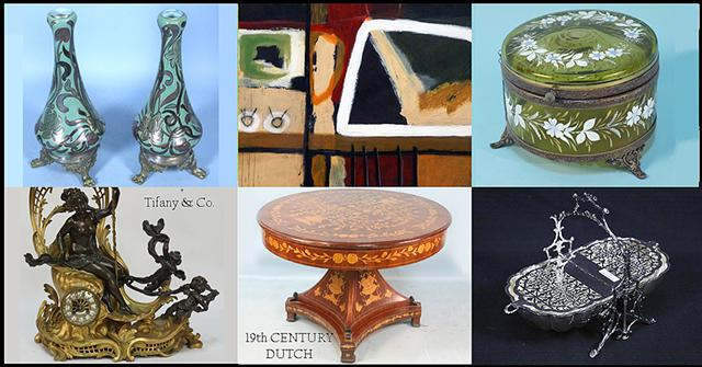 5  Fine Art  Antiques Estate Auction September 30 at 630 PM