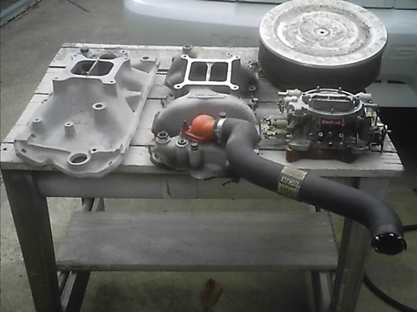 SBC induction parts - $100 (Port Neches)