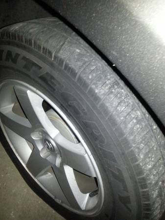 Stock dodge charger rims and tires - $500 (Orange)