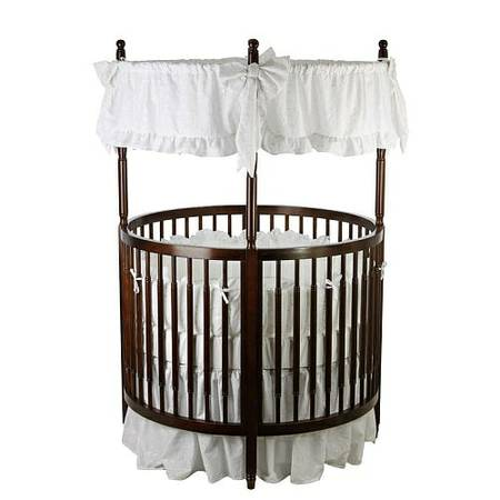 Round crib for sale  -   x0024 300  Orange