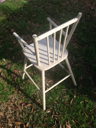 Vintage wooden High Chair for child -   x0024 25  Port Neches