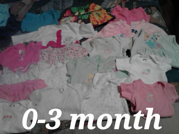 0-3 month baby girl clothes  -   x0024 20  Kountze