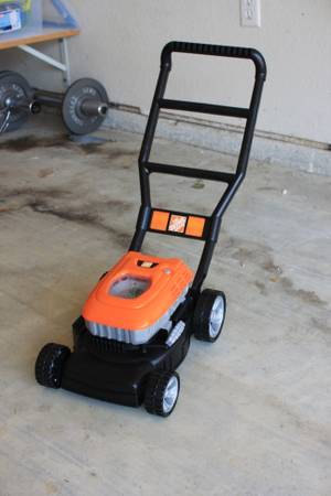 Toddler Lawn Mower- Home Depot Brand - $18 (Beaumont)