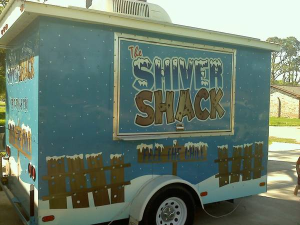 6 X 10 SnoPro Snocone Shaved Ice Trailer - $14000 (Dickinson)