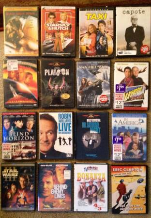 Exellect collection 16 great actions  comedies - $20 (NW Houston)