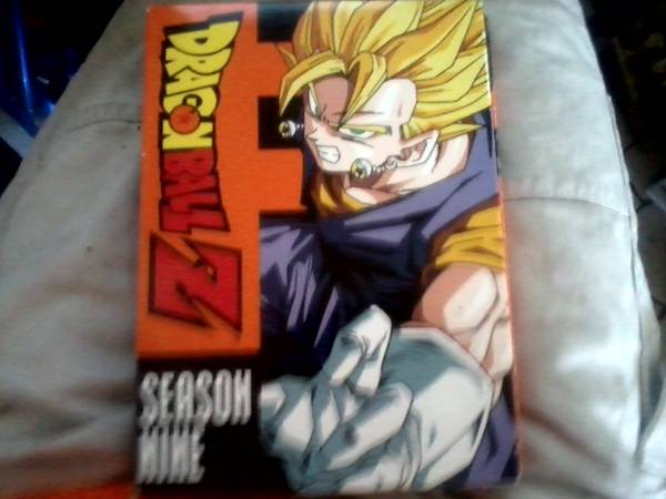 DRAGON BALL Z DVD BOX SET season 9, PERFECT CONDITION - $10 (ORANGE)