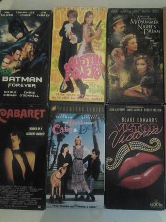 Lot of VHS videos All in great condition -   x0024 12  Beaumont - Vidor