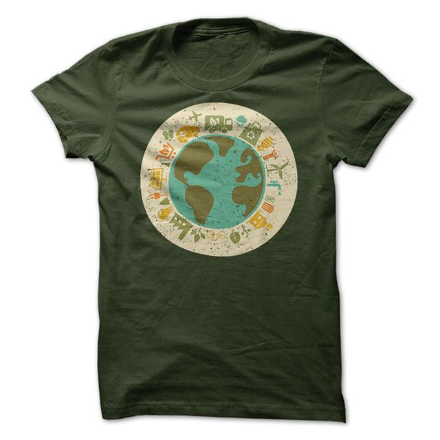 19  Earth Day T-Shirts 2015