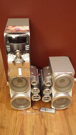 JVC 5 DVD TOWER OF POWER 550 WATT for sale or trade - $150 (beaumont)