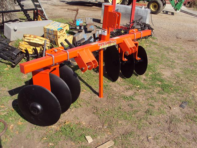 Large 3pt Super Heavy Duty 6 Blade Row Disc Bedder NEW
