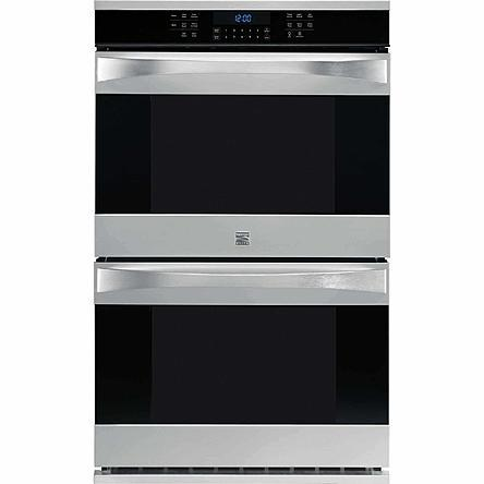 1 299  New Scratch  Dent Kenmore Elite 30 Electric Double Wall Oven in Stainless Steel