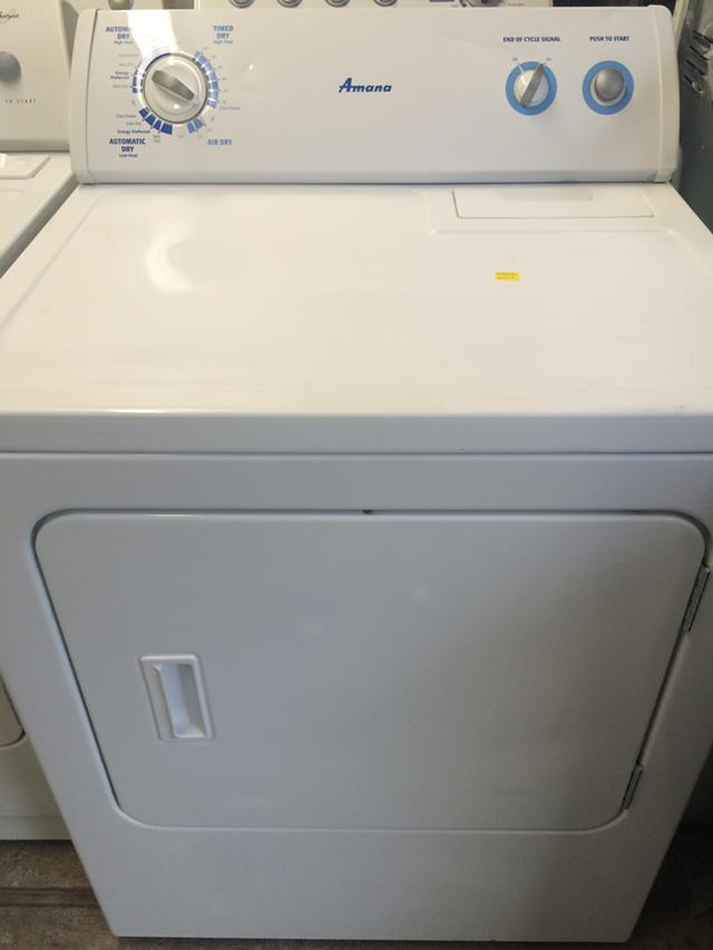 199  Amana Electric Dryer in White