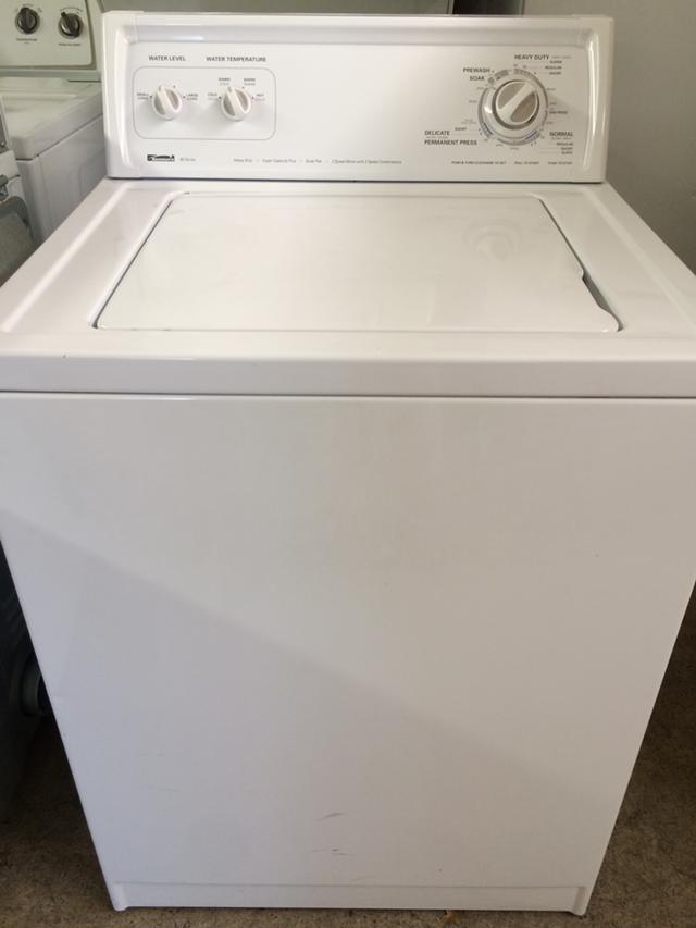 $240, Kenmore 80 Series Washer in White