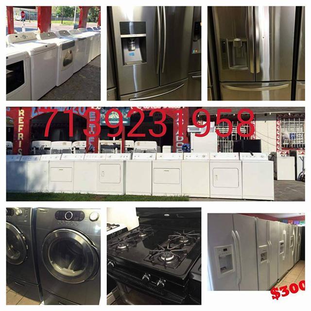 Appliances at a great price for your home Ask for the special