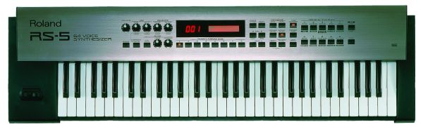 Roland RS-Series 64-Voice Synthesizer w carrying case, and foot peda - $400 (buna tx)