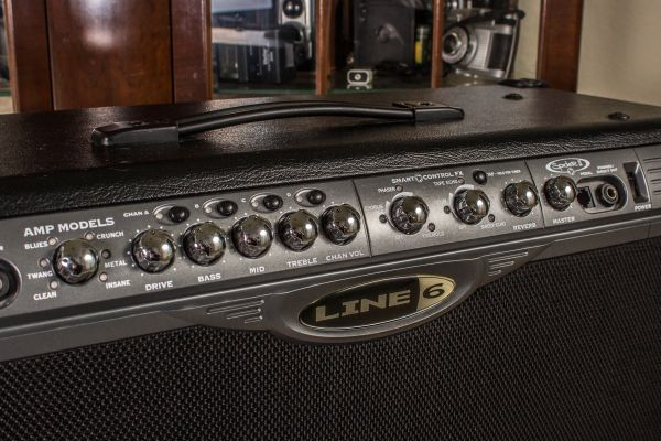 Line 6 Spider II Amp 2 x 12 speakers 150 watts. Excellent Condition. - $350 (Port Arthur)