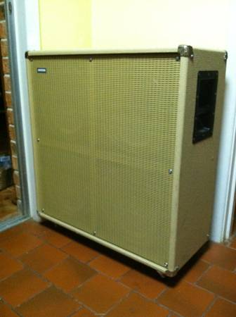 Avatar 4x12 with Eminence speakers - $250 (Beaumont)
